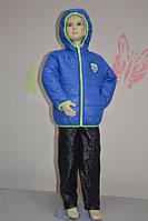 Комбинезон - костюм демисезонный для мальчика 3-10 лет (размер 98-140, куртка +штаны) PoliN line