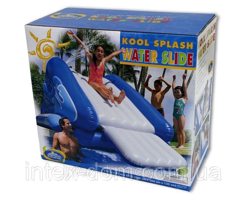 Игровой центр-бассейн Intex 58851/58849 Горка 333х206х117см для детей от 6 лет