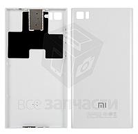 Задняя крышка батареи для мобильного телефона Xiaomi Mi3, белая