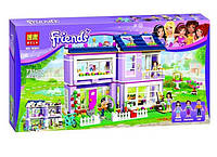 Конструктор  LEGO Friends Дом Эммы 731 деталь