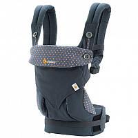 Эргорюкзак Ergobaby 360 для ношения малыша с широким поясом и мягкими удобными лямками ТМ Be easy