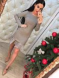Женское нарядное платье с кружевом (4 цвета), фото 6