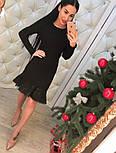Женское нарядное платье с кружевом (4 цвета), фото 10