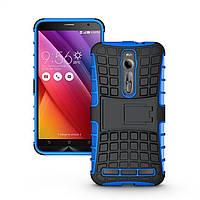 Чехол противоударный Asus Zenfone 2 ZE550ML / ZE551ML z008d бампер синий