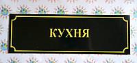 Табличка школьная Кухня