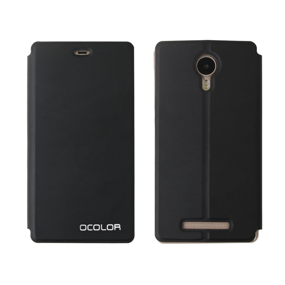 Чехол книжка для Leagoo Z5 c подставкой черный