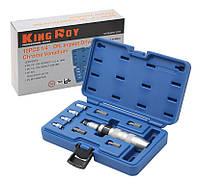 Набор  Отвертка Ударная  King Roy 010MDA 1/4 (10 предметов)