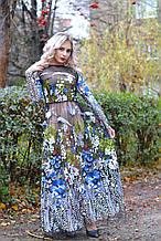 Дизайнерська сукня ручної роботи