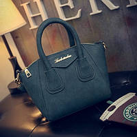 Маленькая женская сумка Le bailu темно зеленая, фото 1