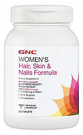 GNC Women's Hair, Skin & Nails Formula 120 tabs
