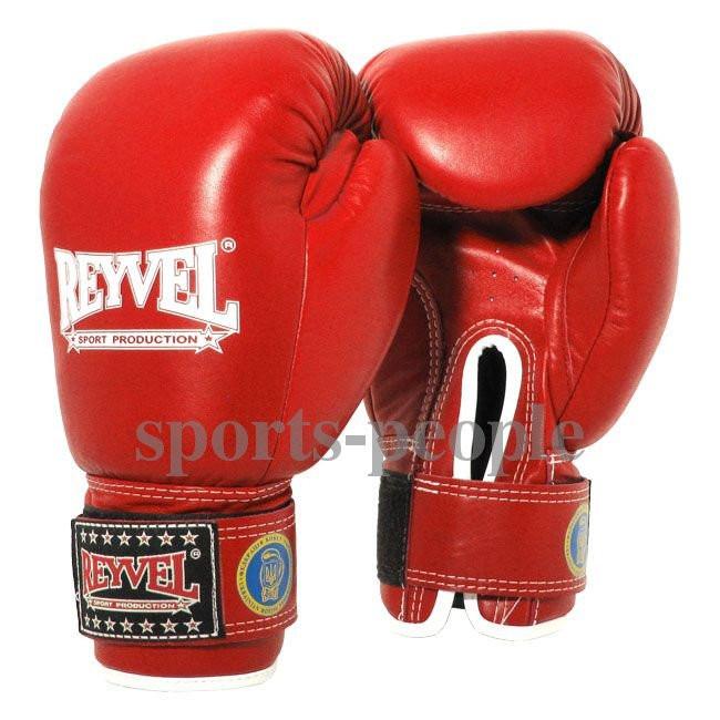 Перчатки боксерские Reyvel, ФБУ, 6, 8 oz, винил