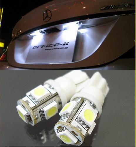 Світлодіодні лампи габарити, повороти, підсвічування Т10 5 LED