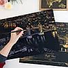Скретч картины ( 5 видов )