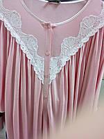 Ночная сорочка женская с кружевом Сонечка  больших размеров , модели в размерах 44, 46,  48, 50, 54, 56