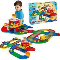 Детский набор Трек Вокзал 51792 Wader, трек вокзал 5 метров Вадер