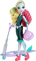 Школа Монстров Лагуна Блю на скутере, Monster High Surf-To-Turf Scooter Vehicle with Lagoona Blue