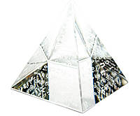"""Пирамида хрустальная """"Египет"""" (6см)"""