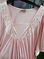 Ночная сорочка женская Фантазия  больших размеров , модели в размерах44, 46,  48, 50, 54, 56, 58, 60
