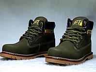 Зимние мужские ботинки Caterpillar зимняя обувь