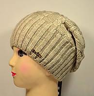 """Женская шапка, """"Габри"""" (Капучино)"""