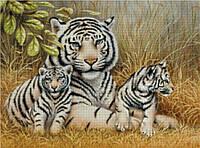 """Схема для вышивания """"Н007 Тигриная семья"""""""