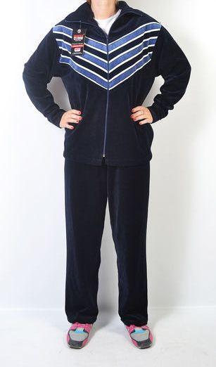 0555354662f Женский велюровый спортивный костюм больших размеров  продажа