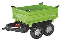 Прицеп на 4-х колесах для трактора Rolly Toys Mega Trailer зеленый