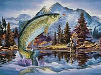 """Схема для вышивания """"Н036 Удачная рыбалка"""""""