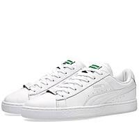 Оригинальные  кроссовки Puma x Trapstar Basket White & White
