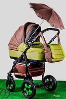 Универсальная коляска 2 в 1 Ajax Group British Pepe
