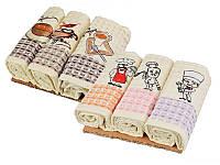 Набор кухонных полотенец 35Х50 см 3 шт в упаковке (в ассортименте) 907-140