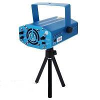 Мини лазерный проектор Mini LASER 6в1 (лазерная установка, цветомузыка), фото 1