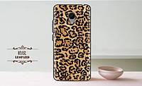 Силиконовая накладка для Meizu M3e с Леопардовым принтом, фото 1