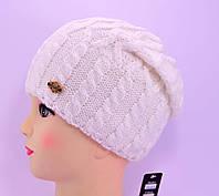 """Женская шапка, """"Моника"""" (Белый)"""