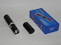 Электрошокер с фонариком 903/328 губная помада, черный