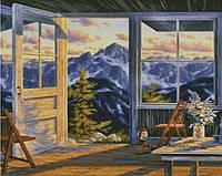 """Схема для вышивания """"Н364 Окно в небо"""""""