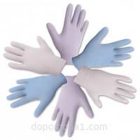 Перчатки нитриловые нестерильные текстурированные без пудры (белые)