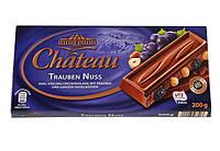 Молочный шоколад Chateau Trauben Nuss с Изюмом и Лесным орехом