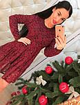 Женское модное платье из кружева (2 цвета), фото 4