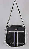 Сумка спортивная Adidas цвет черный 6х26х26  SOR /44-5