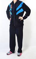 Женский велюровый костюм 54-11