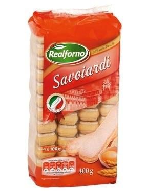 Бисквитное печенье Savoiardi (Савоярди), 400 гр