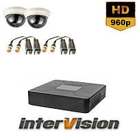 Комплект видеонаблюдения KIT-DOME 281 Intervision