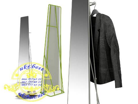 Зеркало напольное 200*50 см с подставкой и вешалкой