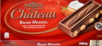 Шоколад молочный с миндалем Chateau Rahm Mandel