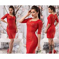 Платье женское красивое №433 -4 разные цвета, платье интернет магазин
