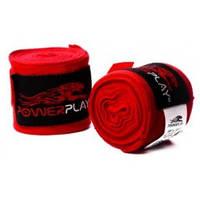 Бинты для бокса PowerPlay 3033 red 3.5m