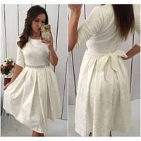 Платье женское модное 431 -4 белое, платье интернет магазин