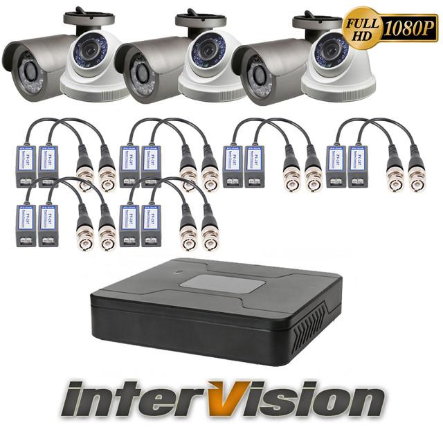 Комплекти відеоспостереження Intervision