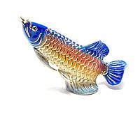 """Рыба """"Ю"""" фарфор (12х16х5 см)"""